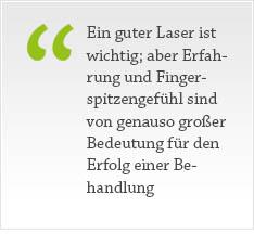 Laserbehandlung von Nagelpilzerkrankungen