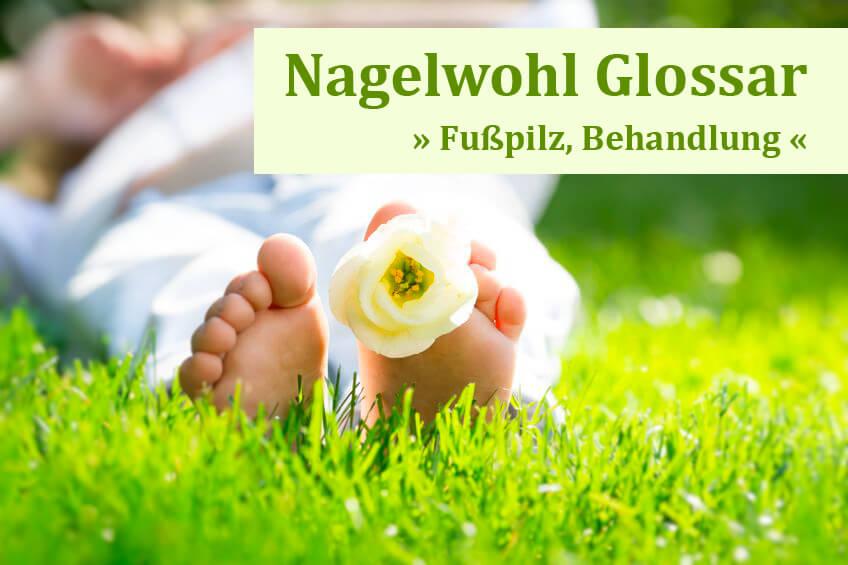 Glossar: Fußpilz Behandlung